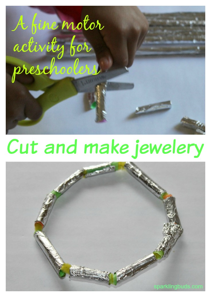 Aluminium foil activities for preschoolers