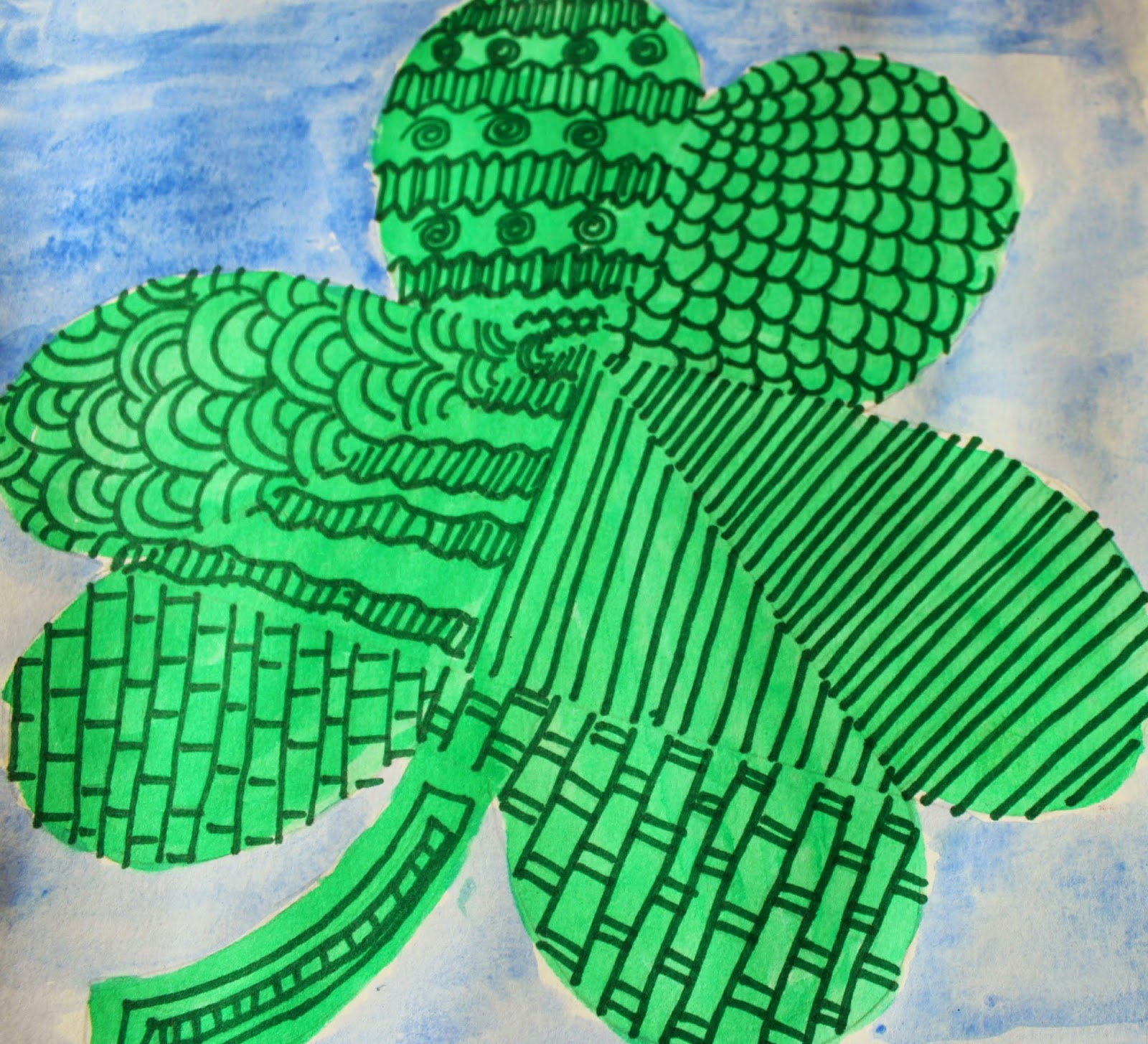 St.Patrick's day painting ideas for kids